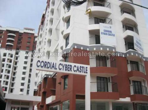 2bhk furnished flat for rent in technopark