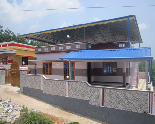 new house for sale in venjaramoodu Chemboor trivandrum